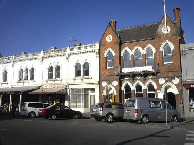 Wiliamstownは港町です。お洒落な町並ですね〜。